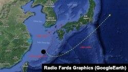 جزایر اوکیناوا در جنوب ژاپن در خطر آلودگی نفت سانچی قرار دارند