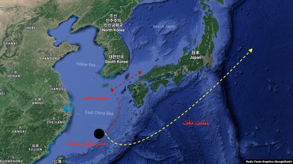 نفت کشتی غرقشده ایرانی به سواحل ژاپن رسید