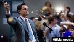 """""""Wall Street Canavarı"""" filmindən kadr."""