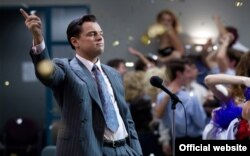 "Leonardo DiCaprio ""The Wolf of Wall Street"" filmində"