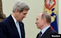 Переговоры Владимира Путина и Джона Керри, 15 декабря 2015 года