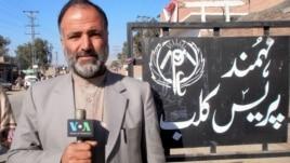 Pakistani VOA journalist Mukarram Khan Aatif who was killed by gunmen on January 17.