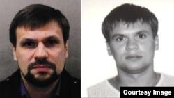 «Руслан Боширов» на фото британской полиции и Анатолий Чепига на паспортном фото 2003 года