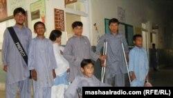 Pacientë të prekur nga polio, Pakistan