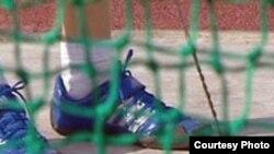 Tajikistan -- hammer throw, undated