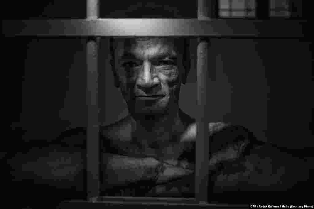 """Лубош Мико отбывает тюремный срок за убийство. Второй приз в категории """"Портреты"""", автор - Радек Калгоус (Mafra)"""