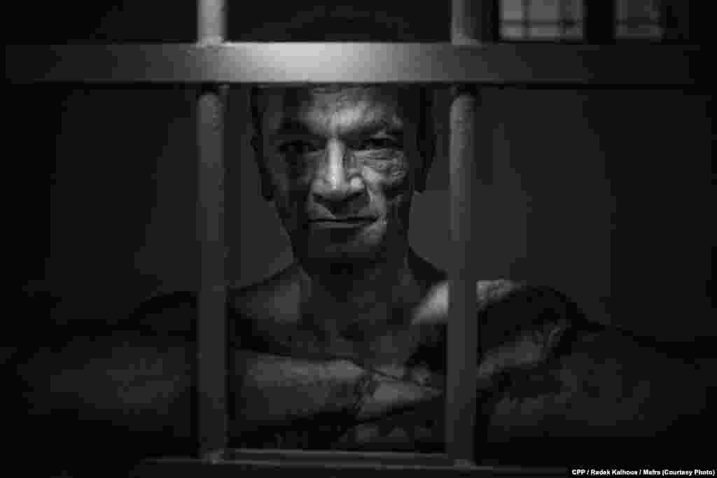 Second Prize, Portraits:Luboš Miko is serving a prison sentence for killing a taxi driver. (Mafra/Radek Kalhous)