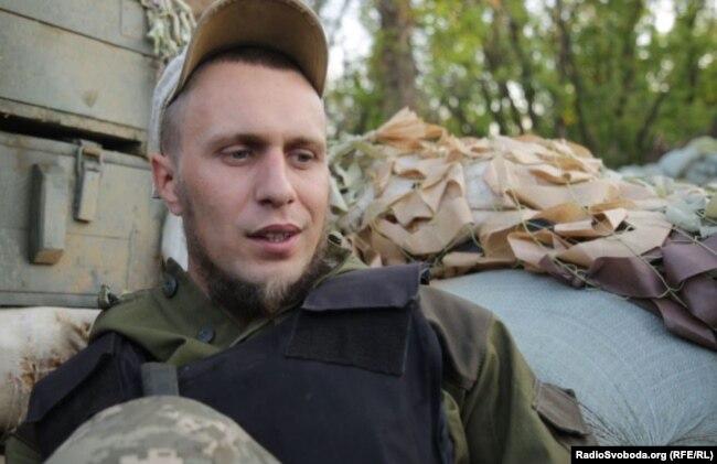Військовослужбовець ЗСУ Антон