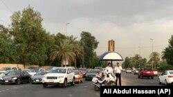 Imagine de la Bagdad din Zona Verde