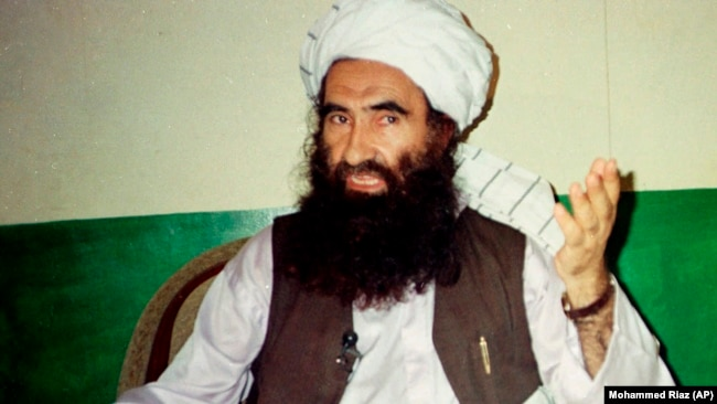 Jalaluddin Haqqani, the late founder of the militant Haqqani network.