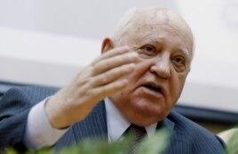 Горбачев на презентации своей книги