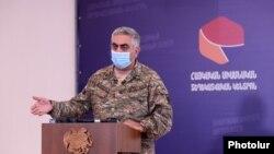 Представитель Армянского единого информационного центра Арцрун Ованнисян