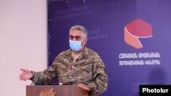 Gредставитель Армянского единого информационного центра Арцрун Ованнисян