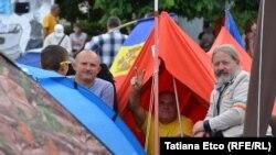 A cincea zi a protestelor anti-guvernamentale de la Chișinău