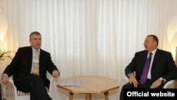 Princ Endrju razgovarao sa predsednikom Azerbejdžana Ilhamom Alijevim, Baku, 28. januar 2010.
