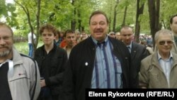 Геннадий Гудков Ресей оппозициясымен бірге. 13 мамыр 2012 жыл
