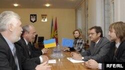 Зустріч голови представництва Єврокомісії в Україні пана Тешейру із представниками міської влади міста Ізюма
