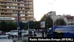 Vlasti Kosova već su provodile nekoliko akcija hapšenja u cilju suzbijanja regrutovanja za Siriju i Irak, Priština 2014.