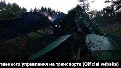 По-2 после аварийной посадки