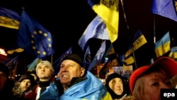 """""""Евромайдан"""" в Киеве. 5 декабря 2013 года"""