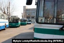 Троллейбусное депо Бахмута