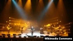 David Gilmour Frankfurtda çıxış edərkən (2006)