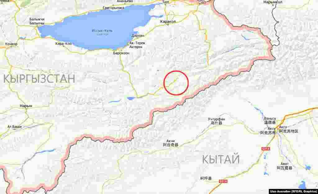 В ночь на 23 января на границе Кыргызстана с Китаем произошла перестрелка между кыргызским пограничным нарядом и неизвестными лицами. Сообщалось, что неизвестные убили работника охотничьего хозяйства и завладели его ружьем. Прибывшие на место происшествия пограничники были обстреляны боевиками. В ходе завязавшейся перестрелки двое подозреваемых были убиты. Позже в ходе спецоперации пограничники убили 11 вооруженных человек, которые забаррикадировались в одном из приграничных сооружений. В связи с происшествием представители МИД Кыргызстана провели срочную встречу с работниками китайского посольства в Бишкеке. Однако о деталях встречи не сообщается.