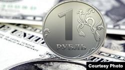 Рубль падает - доллар растет