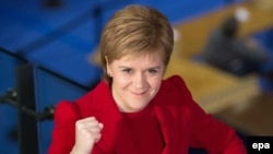 Leader of the Scottish National Party (SNP), Nicola Sturgeon