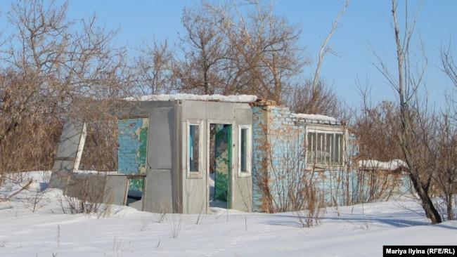 Разрушенные дома Дувановки