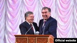 Эмомали Рахмон и Шавкат Мирзиёев