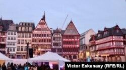 """Piața centrală a vechiului oraș Frankfurt la """"Noaptea Muzeelor"""", 11 mai 2019"""