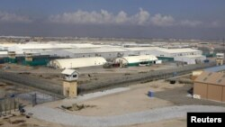 A general view of the Bagram prison compound