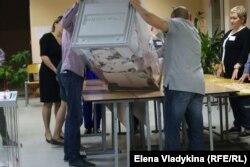 Підрахунок голосів на місцевих виборах у Санкт-Петербурзі, 8 вересня 2019 року