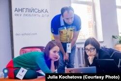Команда організаторів ClimateLaunchpad (Україна) 2016