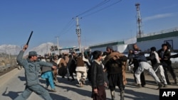 The situation has been tense in Afghanistan amid widespread protests in response to the burning of copies of the Koran at a NATO base.