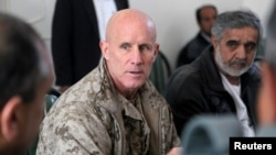 Vice Admiral Robert Harward served in Iraq and Afghanistan.
