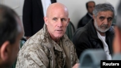 U.S. Vice Admiral Robert S. Harward has combat experience on Navy SEAL teams and served in Iraq and Afghanistan.