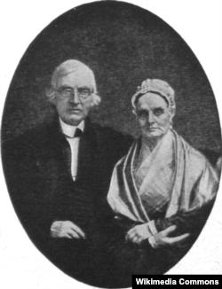 Лукреция и Джеймс Мотт