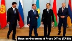 ЕАЭО елдерінің үкімет басшылары. Алматы, 1 ақпан 2019 жыл