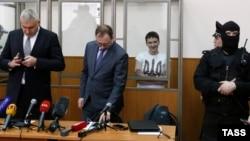 Надежда Савченко сотта тұр.Донецк, 21 наурыз 2016 жыл.