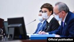 Донедавна Даріга Назарбаєва була спікеркою сенату Казахстану і першою кандидаткою на посаду президента в разі відходу Токаєва