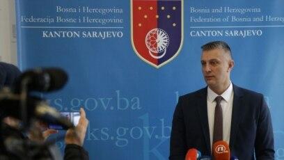 Mirza Čelik, novi predsjedavajući Parlamenta Kantona Sarajevo, januar 2020.