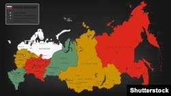 Мапа Росії