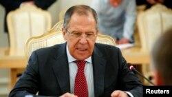 Шефот на руската дипломатија Сергеј Лавров.