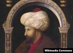 Султан Мехмед II, покоритель Константинополя. Портрет работы венецианского художника Джентиле Беллини