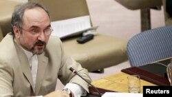 محمد خزائی، نماینده ایران در سازمان ملل