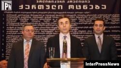 Было видно, что во время выступления Иванишвили старался скрыть волнение