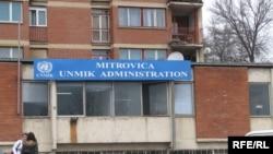 Sedište UNMIK-a u Mitrovici