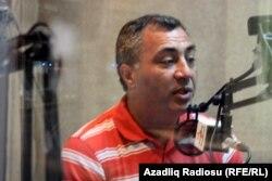 """Əsəd Cahangir Azadlıq Radiosunun """"Pen klub"""" proqramında. Sentyabr, 2011"""
